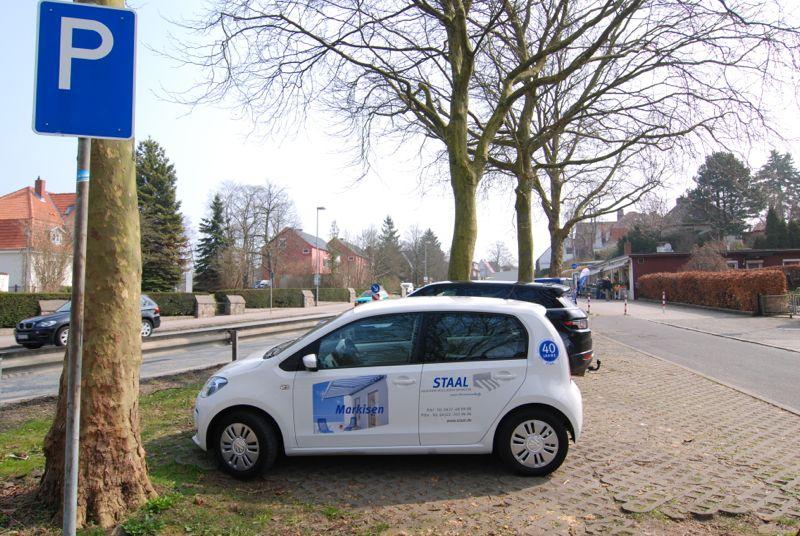 Parkmöglichkeiten bei Staal Rollladen und Sonnenschutz in Plön