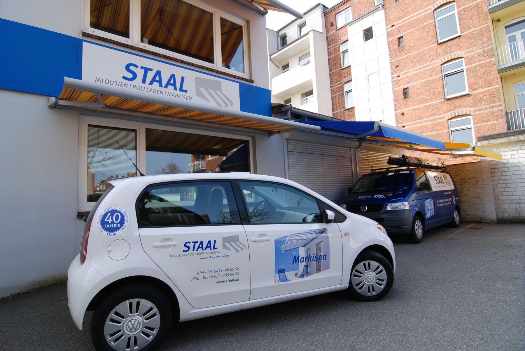 Markisen, Rollladen- Und Vordach Ausstellung Von Staal In Kiel