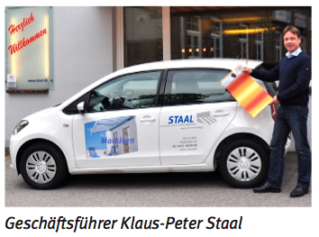 Geschäftsführer Klaus-Peter Staal