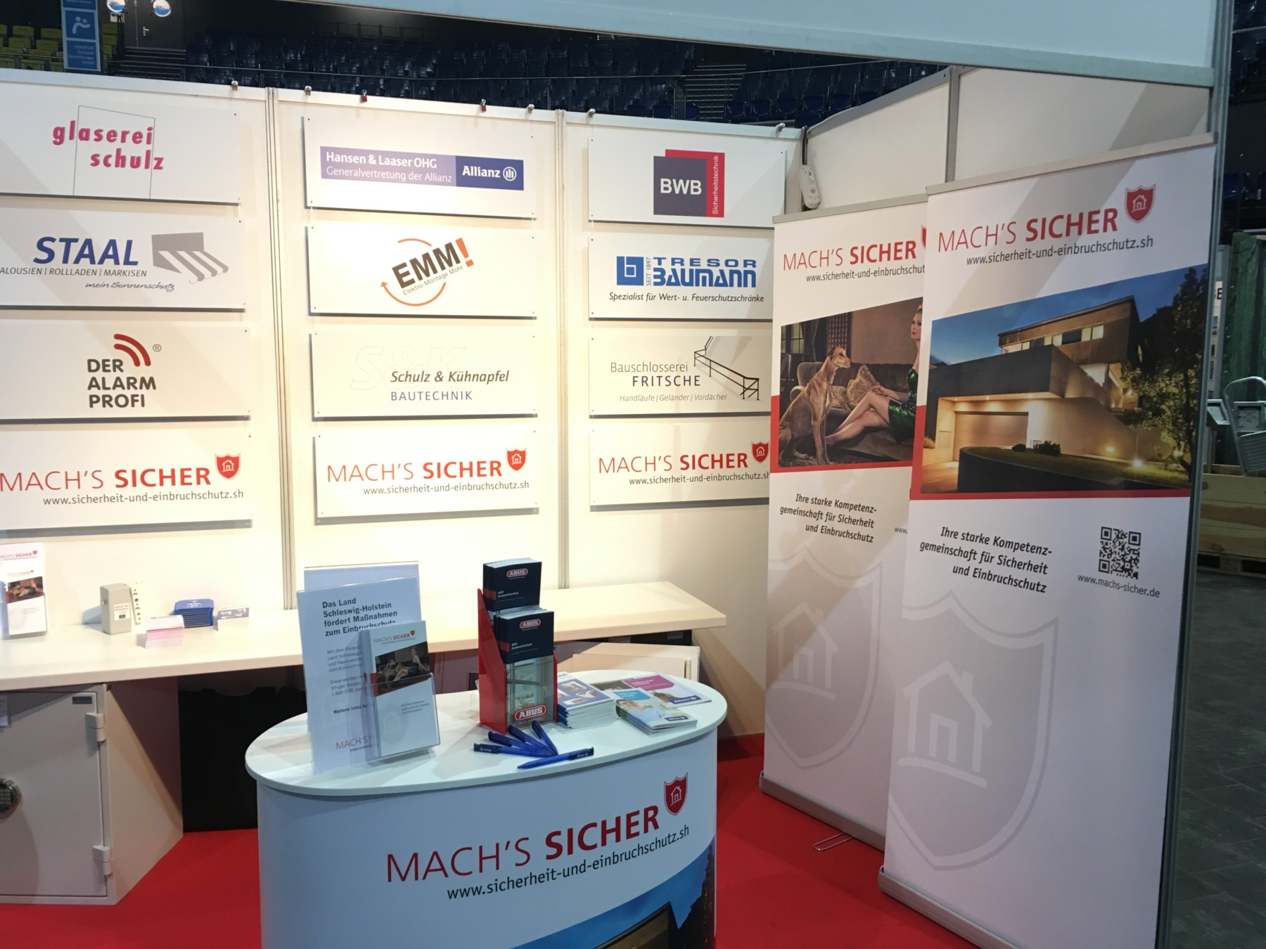 Mach's Sicher Messestand in Kiel