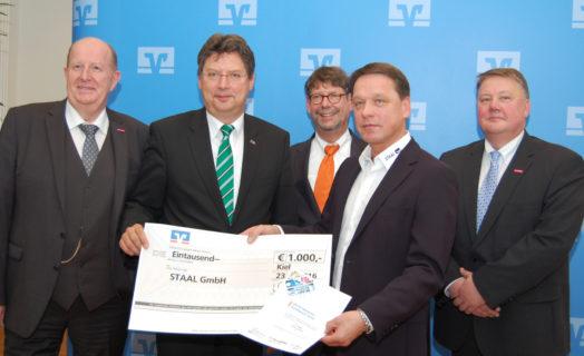 Staal Ausgezeichnet Mit Dem VR-Förderpreis Handwerk 2016