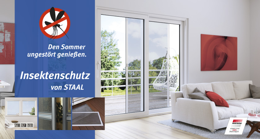 Insektenschutz von Staal in Kiel und Plön