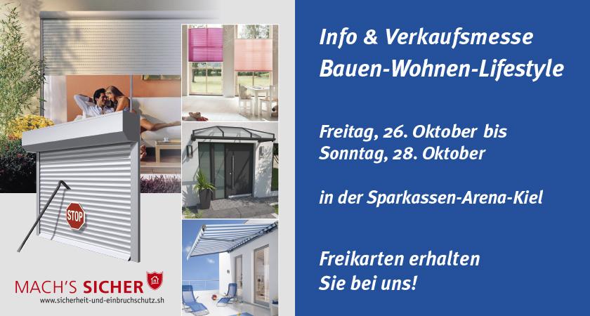 Staal auf der Bauen-Wohnen-Lifestyle Messe in Kiel
