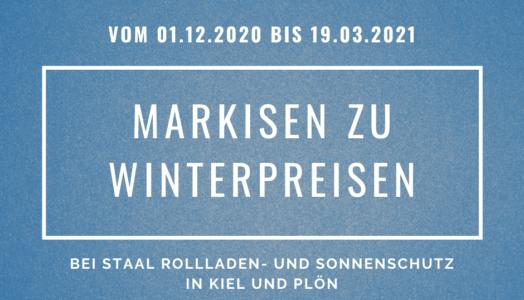Markisen Zu Winterpreisen Bei STAAL